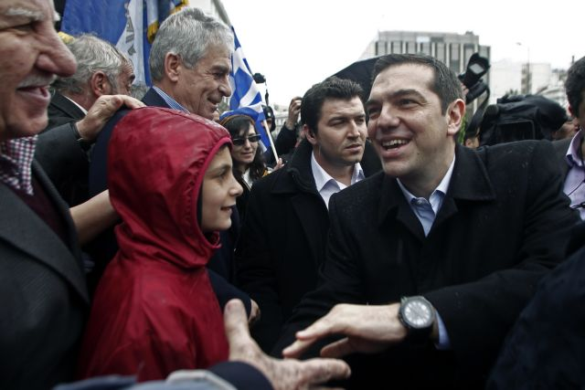 "Wall Street Journal: ""Tsipras visit to Moscow plays to domestic audience"" 