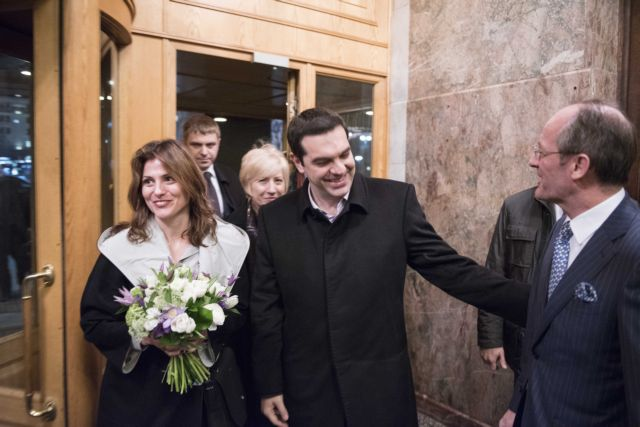 PM Tsipras arrives in Moscow for talks with President Putin | tovima.gr