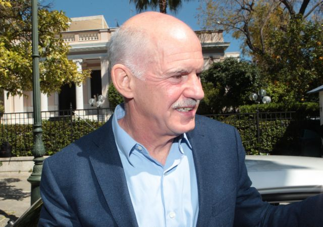 Papandreou in favor of a referendum on Greek program and negotiations | tovima.gr