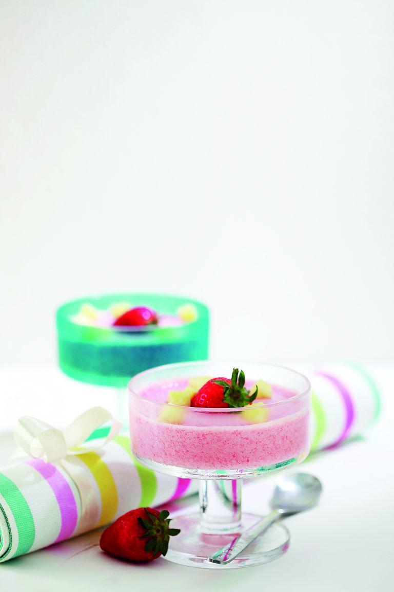 Semifreddo φράουλας, μάνγκο ή ανανά | tovima.gr