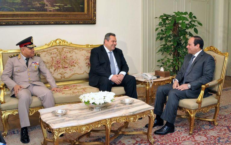 Συμφωνία Καμμένου-Αλ Σίσι για συνεργασία σε θέματα Αμυνας | tovima.gr
