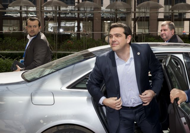 Tsipras confident of reaching an agreement after Eurogroup meetings | tovima.gr