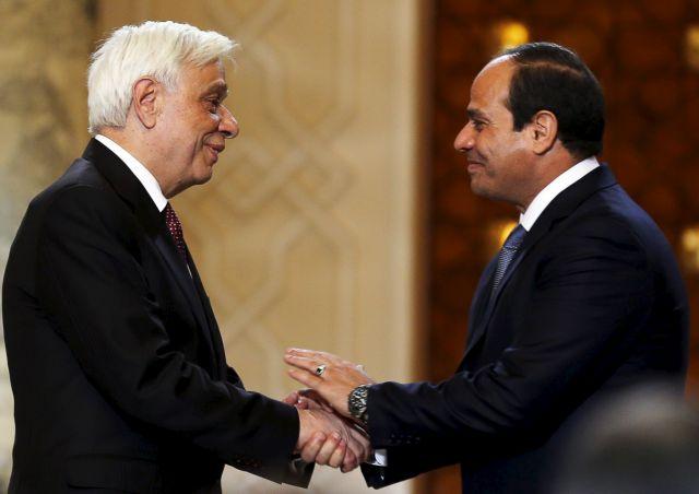 Παυλόπουλος: «Υποδειγματική η αντιμετώπιση της Αιγύπτου στην ΑΟΖ» | tovima.gr