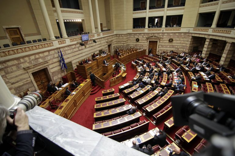 Government and opposition to clash in Parliament over ERT bill vote | tovima.gr