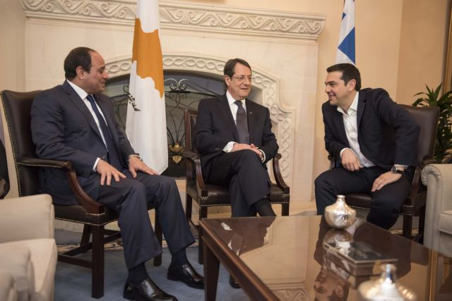 Trilateral talks in Nicosia between Egypt, Cyprus and Greece begin | tovima.gr