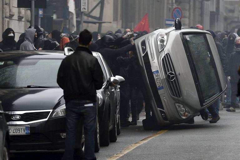 Ιταλία: Διετάχθη εισαγγελική έρευνα για τις ταραχές στην Expo 2015 στο Μιλάνο | tovima.gr