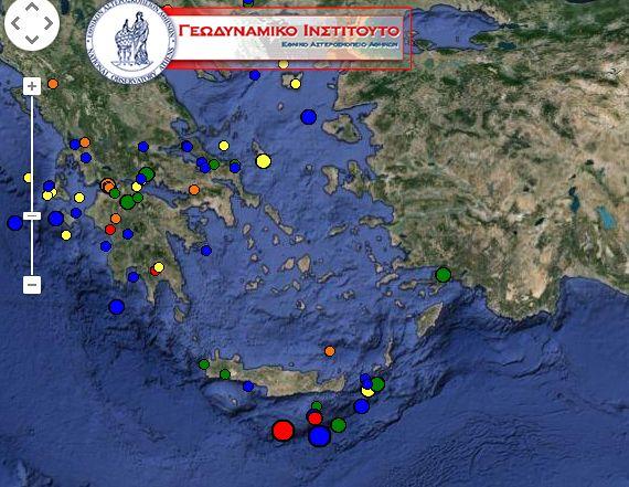 Σεισμός 4,3 βαθμών ταρακούνησε την Κρήτη | tovima.gr