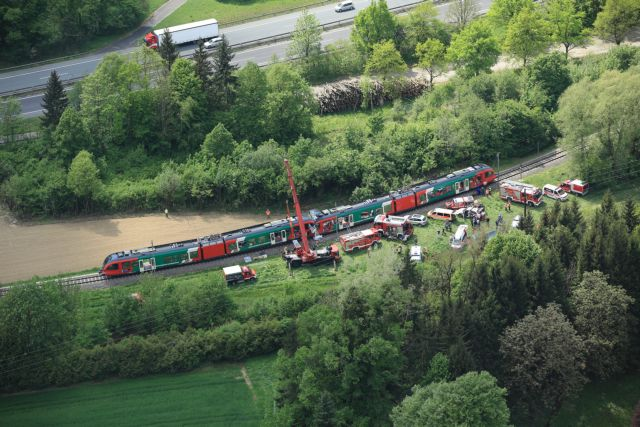 Αυστρία: Μετωπική σύγκρουση τρένων – Ενας νεκρός | tovima.gr