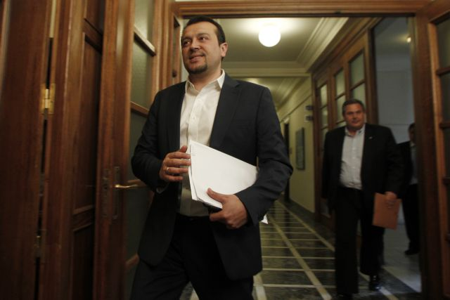Pappas argues that SYRIZA MPs must support agreement in Parliament | tovima.gr