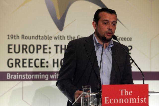 Ν.Παππάς: «Δεν βοηθά καθόλου η επαναφορά σεναρίων Grexit»   tovima.gr