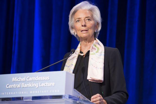Λαγκάρντ: «Υπάρχει κάποια πρόοδος με την Ελλάδα »   tovima.gr