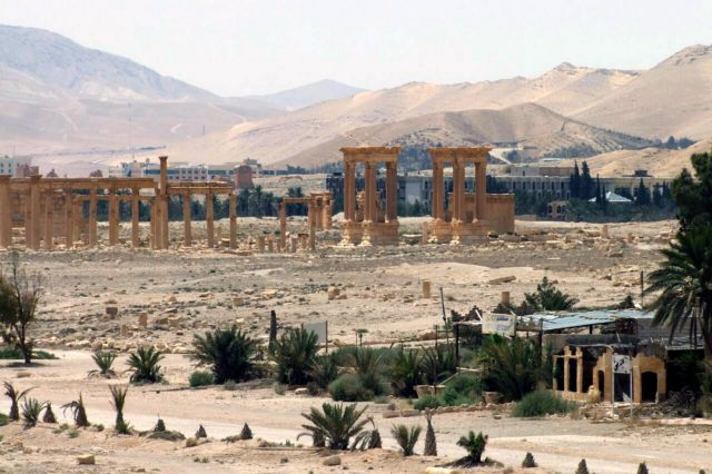Οι τζιχαντιστές εισέβαλαν στην αρχαία Παλμύρα-Κατέλαβαν και το αεροδρόμιο   tovima.gr
