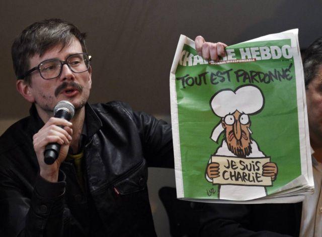 Αποχωρεί από το Charlie Hebdo ο σκιτσογράφος Luz | tovima.gr