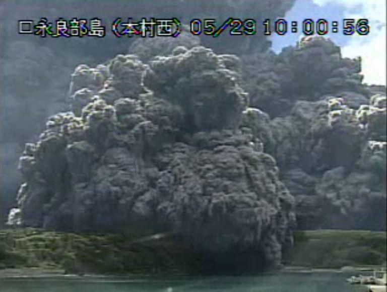 Έκρηξη του ηφαιστείου Σίντακε στην Ιαπωνία – βίντεο   tovima.gr