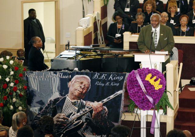 Στον Μισισιπή πραγματοποιήθηκε η κηδεία του Μπι Μπι Κινγκ   tovima.gr