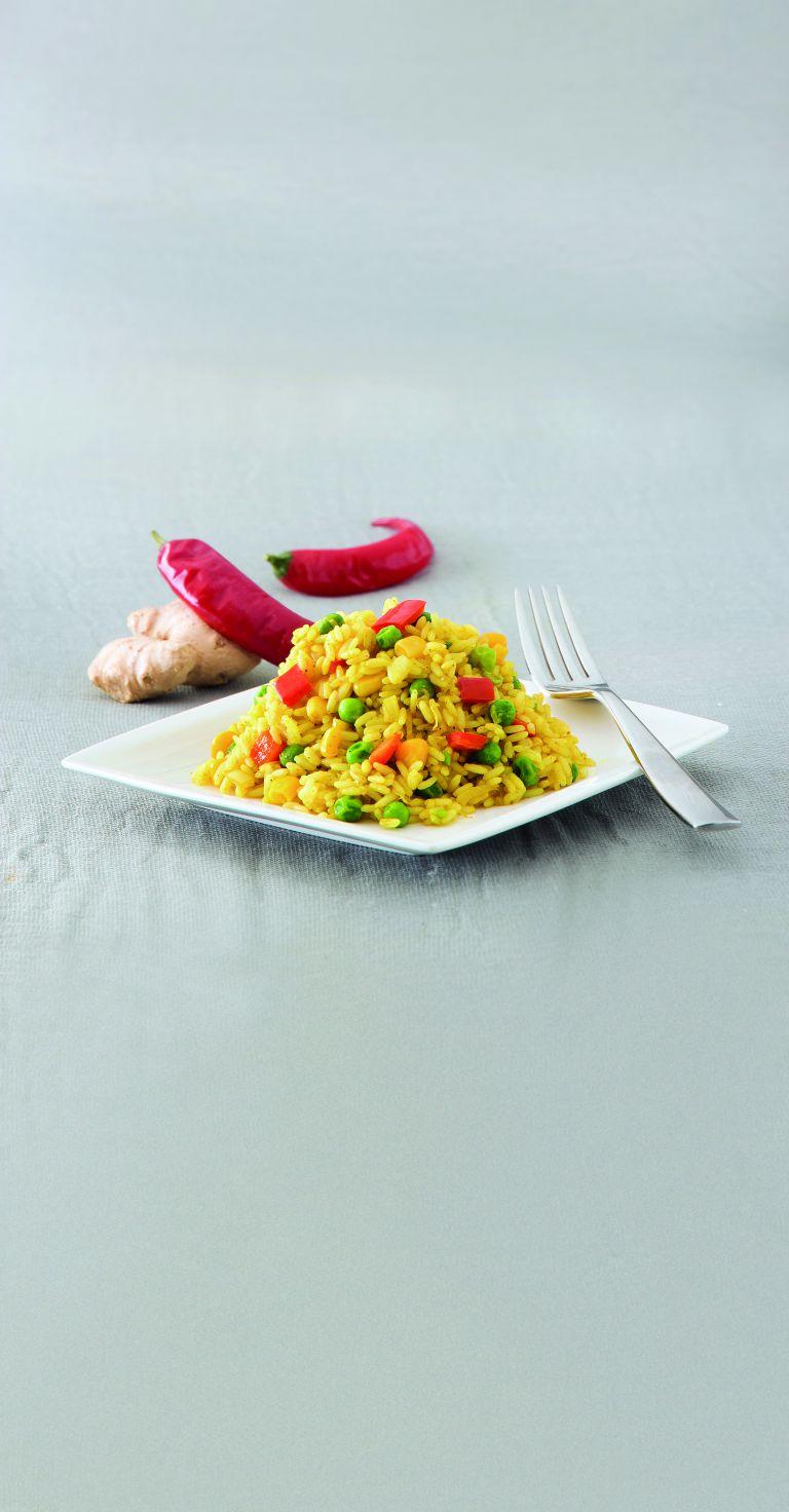 Ρύζι με κάρι και λαχανικά | tovima.gr