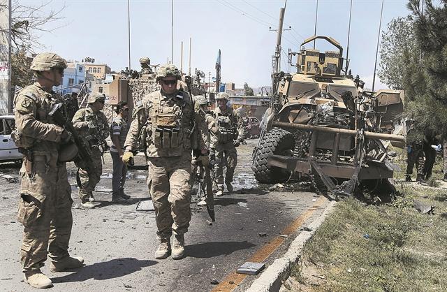 Στα $2,26 τρισ. το κόστος του πολέμου στο Αφγανιστάν   tovima.gr