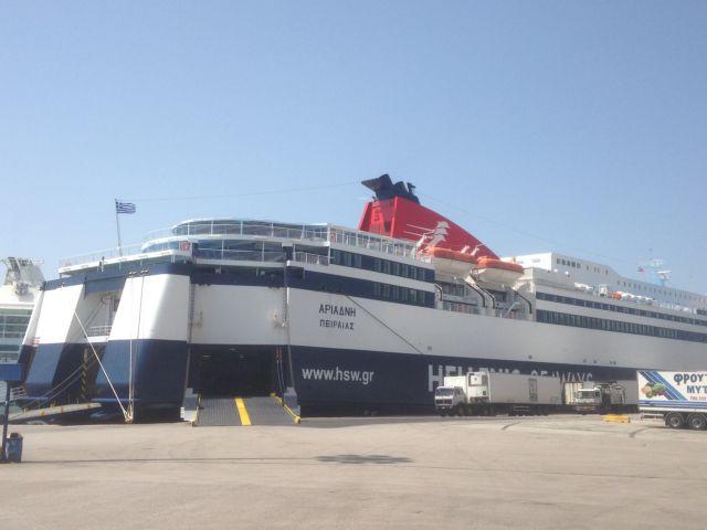 Δένουν τα πλοία λόγω τετραήμερης απεργίας της ΠΝΟ | tovima.gr