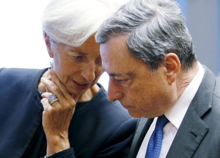 Greek debt relief front-and-centre on sidelines of IMF spring meeting | tovima.gr