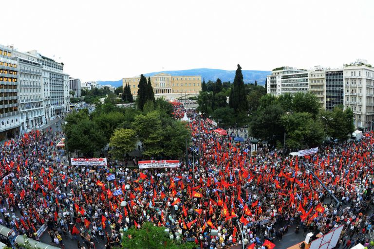 ΚΚΕ: Ανέκδοτο να καταγγέλει ο Τσίπρας τον εργασιακό μεσαίωνα | tovima.gr