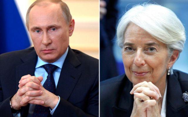 Τηλεφωνική επικοινωνία Πούτιν-Λαγκάρντ με θέμα την Ελλάδα | tovima.gr