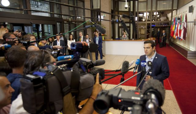 """PM Tsipras: """"The agreement will allow us to stand on our feet again"""" 