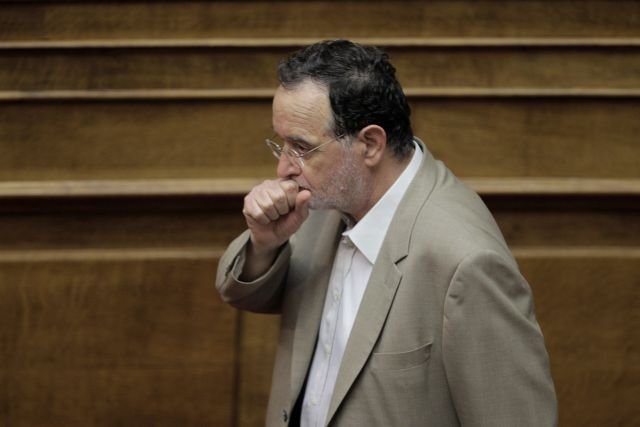 """Lafazanis: """"Accept Schäuble's plan for an orderly Grexit""""   tovima.gr"""