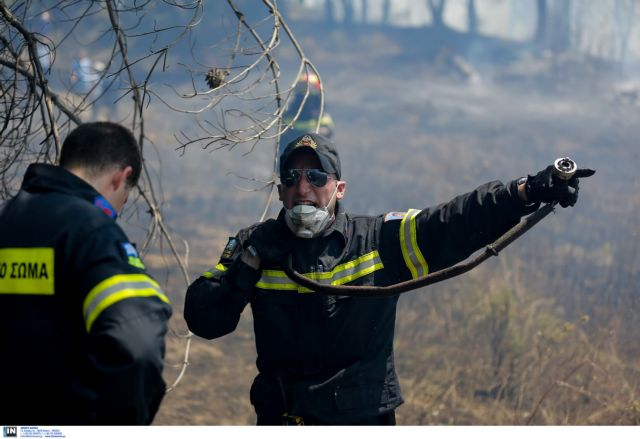 Forest fire breaks out in Keratsini on Monday morning | tovima.gr