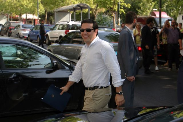 PM Tsipras to visit Ministry of Agricultural Development on Wednesday | tovima.gr