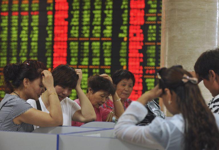 Μεγάλη πτώση την Τετάρτη στα κινεζικά χρηματιστήρια | tovima.gr