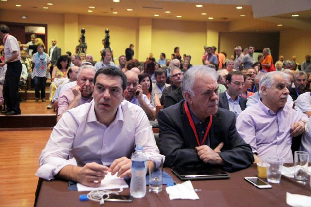 SYRIZA central committee discussion hints towards an upcoming split | tovima.gr