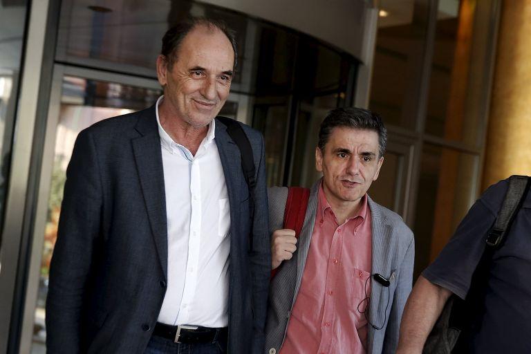 Τσακαλώτος – Σταθάκης με κουαρτέτο: Διαπραγματεύσεις επί της ελληνικής πρότασης για τα κόκκινα δάνεια | tovima.gr