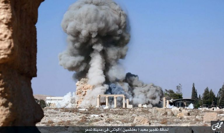 Τμήμα δεύτερου αρχαίου ναού στην Παλμύρα κατέστρεψαν οι τζιχαντιστές | tovima.gr