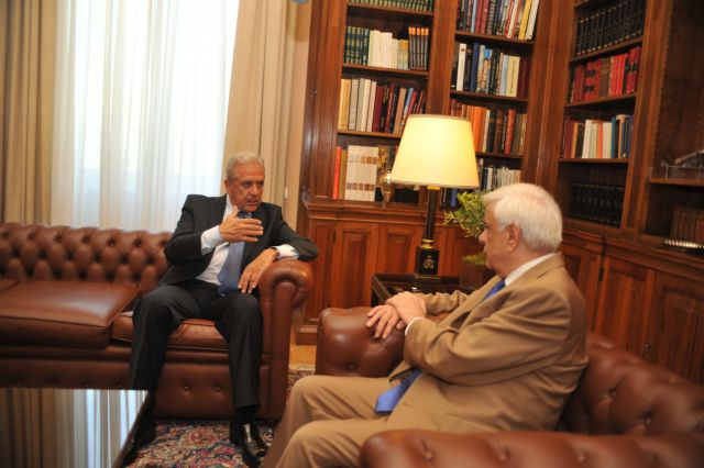 President Pavlopoulos to receive Commissioner Avramopoulos on Friday | tovima.gr