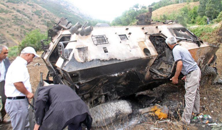 Ιράκ: Δεκάδες αντάρτες του PKK σκοτώθηκαν σε τουρκικές επιδρομές   tovima.gr