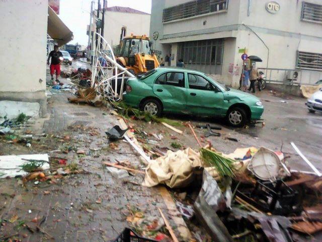 Ανεμοστρόβιλος χτύπησε χωριά της Ηπείρου | tovima.gr