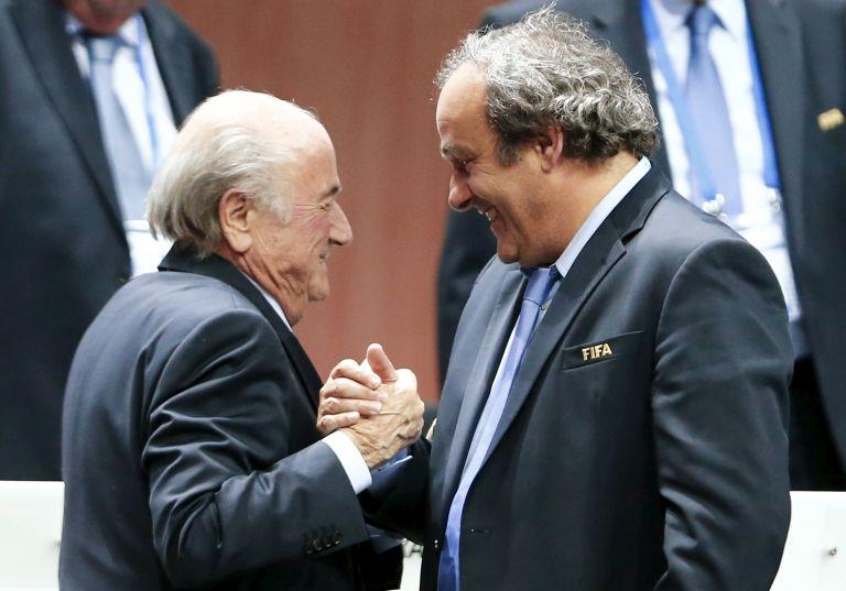 NYT: Εφεση για τον τρίμηνο αποκλεισμό τους κατέθεσαν Μπλάτερ και Πλατινί | tovima.gr