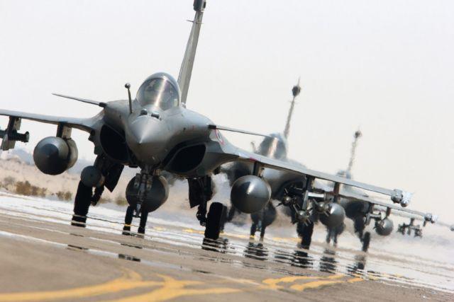Συρία: Η Γαλλία βομβαρδίζει την ISIS για δεύτερη φορά | tovima.gr