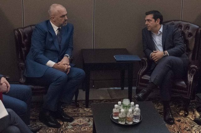 Tsipras, Rama to discuss bilateral, regional relations in Davos | tovima.gr