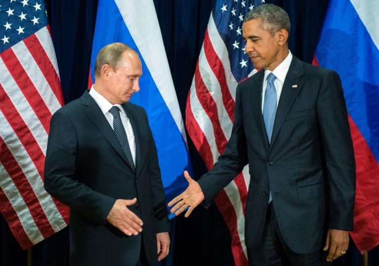 Τηλεφωνική επικοινωνία Πούτιν – Ομπάμα για τη Συρία | tovima.gr