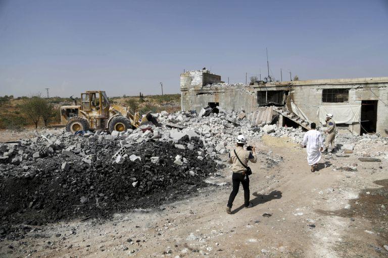 Μαίνονται οι ρωσικές επιδρομές στη Συρία – επικρίνουν Βρετανία, Γαλλία, Τουρκία | tovima.gr