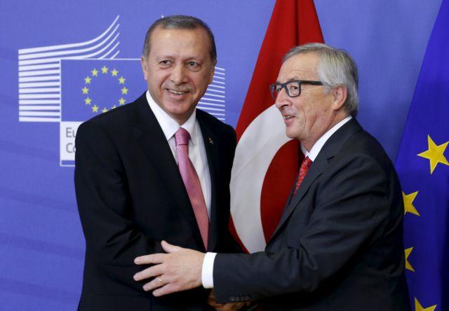 Χωρίς εντυπωσιακά αποτελέσματα οι επαφές Ερντογάν στις Βρυξέλλες   tovima.gr