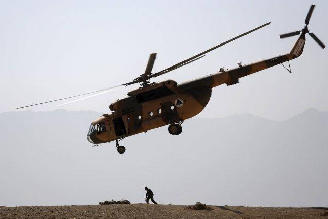 Πέντε νεκροί από συντριβή ελικοπτέρου του ΝΑΤΟ στην Καμπούλ | tovima.gr