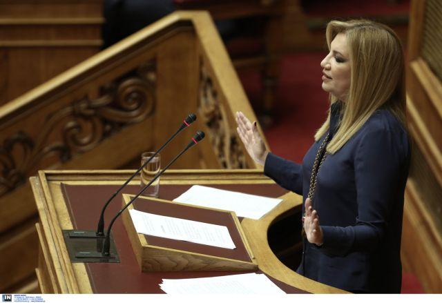 Αποκλείει συνεργασία με τον ΣΥΡΙΖΑ η Φ.Γεννηματά   tovima.gr