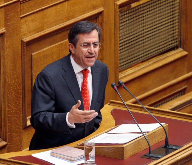 Ν. Νικολόπουλος: «Εάν τα προαπαιτούμενα έλθουν σε ένα νόμο και ένα άρθρο,ενδεχομένως θα απέχω από την ψηφοφορία» | tovima.gr