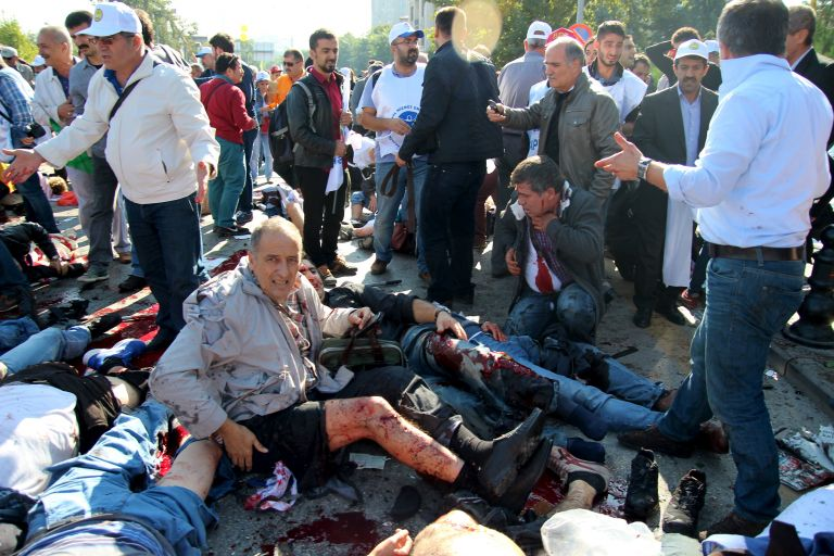 Οργή του κουρδικού HDP για το αίμα στην Άγκυρα | tovima.gr