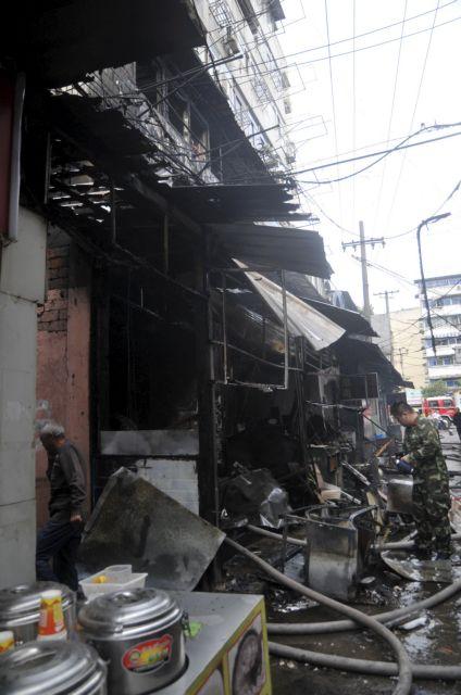 Τουλάχιστον 17 νεκροί από έκρηξη σε εστιατόριο στην Κίνα | tovima.gr
