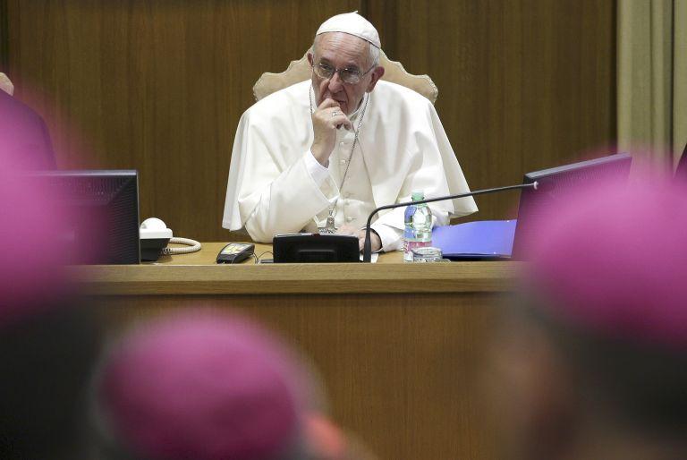 Καρδινάλιοι κατά Πάπα λόγω της φιλελεύθερης στάσης του | tovima.gr