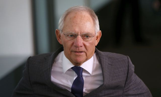 Schäuble claims a Grexit would only have hurt the Greek people 'once' | tovima.gr