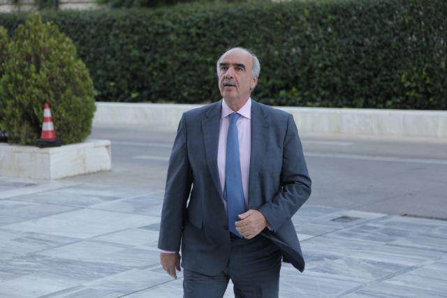 Μεϊμαράκης: Οχι σε κοινή στήριξη των συνόρων μας με την Τουρκία | tovima.gr